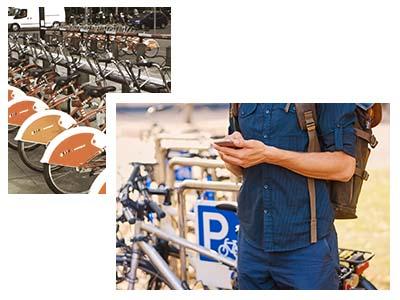 I SHARE IT - die flexible Bike-Sharing-Lösung für Ihr Fahrrad-Verleih-System - Flexibel für wenige und viele Fahrräder!