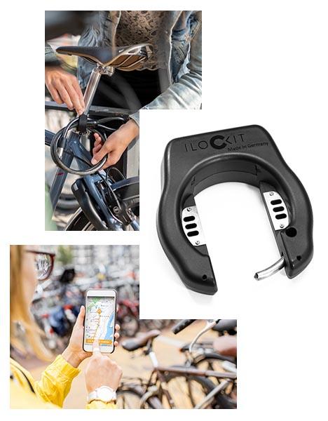 I LOCK IT das smarte Fahrradschloss eignet sich für Bike-Sharing-Systeme
