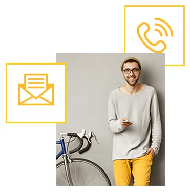 I SHARE IT Lösungen für Bike-Sharing-Systeme: Nehmen Sie gerne Kontakt mit uns auf!